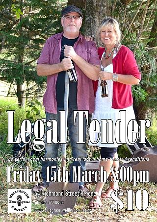 130315 Legal Tender poster
