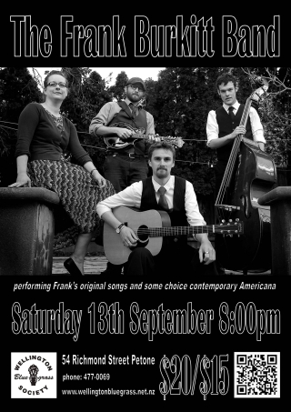 140913 The Frank Burkitt Band