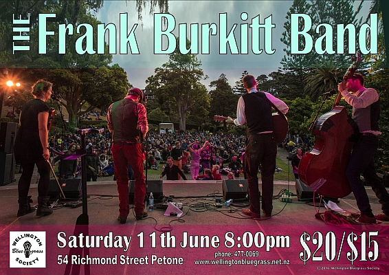 160611 The Frank Burkitt Band