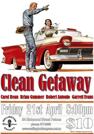 170421 Clean Getaway