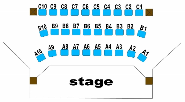 allocated seating (600 wide)