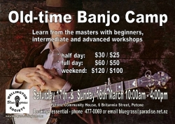 Old Time Banjo Camp