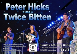 Peter Hicks and Twice Bitten