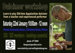 Imogen Coxhead dulcimer workshop