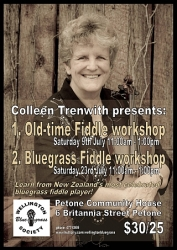Fiddle workshops  Colleen Trenwith