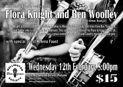 Flora Knight and Ben Woolley