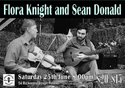 Flora Knight and Sean Donald