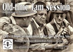 Old-time jam session