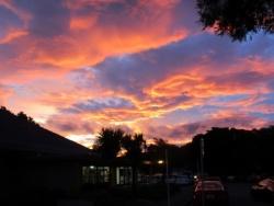 Petone evening sky