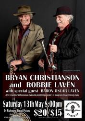 Robbie Lavën and Bryan Christianson