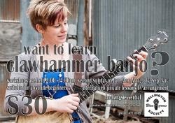 Clawhammer Banjo Workshop
