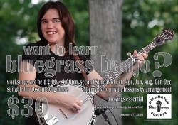 Bluegrass Banjo Workshop