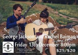 George Jackson and Rachel Baiman