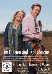 Tim O'Brien and Jan Fabricius