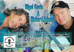 Nigel Gavin & Richard Adams